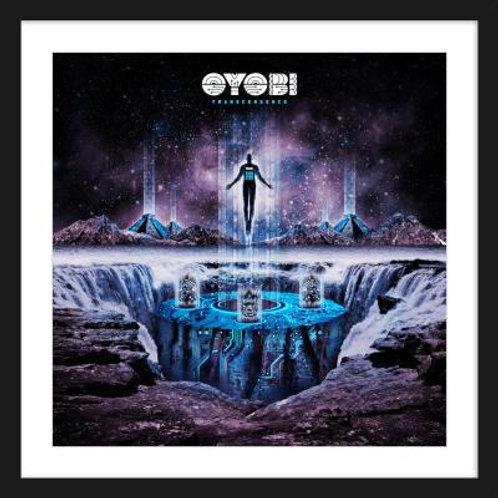 Oyobi Transcendence Framed Print