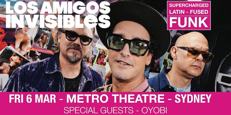 Los Amigos Invisibles Support @ Metro