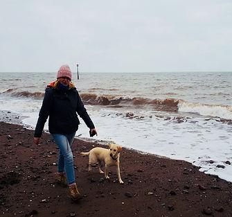 Dog walker, beach walks