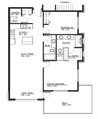 Type A1 Apartment Layout