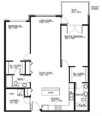 Type C2 Suite Layout