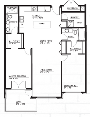 Type C1 Suite Layout