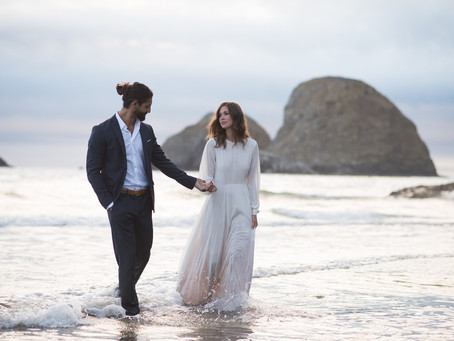 Styled Oregon Elopement