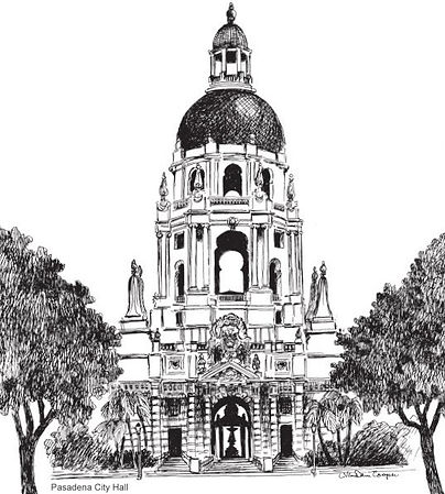 The Pasadena City Hall - Lynn Van Dam Cooper