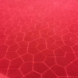 Red Web Carpet