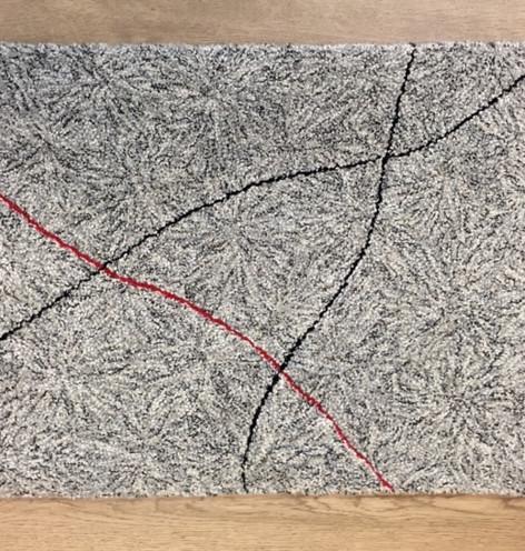 Sand Dollar Red & Black Line