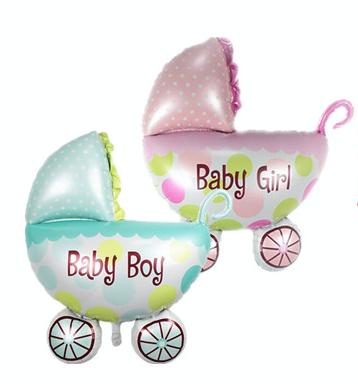 Baby shower Pram & Pony 2 FOR PRICE OF 1!