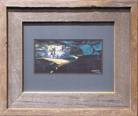 'YellowfinTuna' Small Framed Print