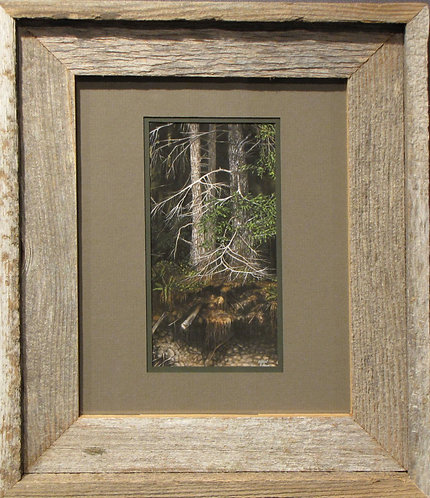 'Erosion' Small Framed Print