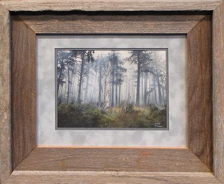 'Winters Sentinel' Small Framed Print