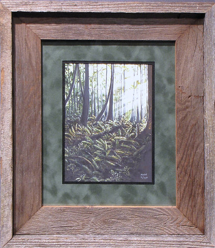 'Natures Palette' Small Framed Print
