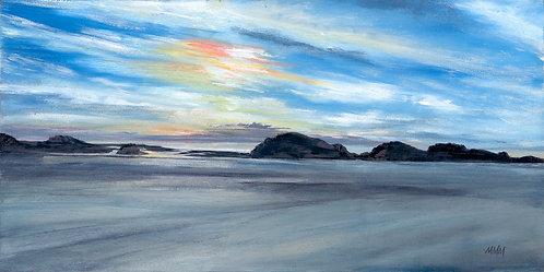 'Westward Sky' Framed Original