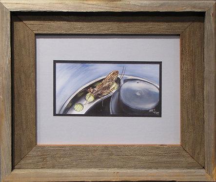 'Mayfly #2' Small Framed Print