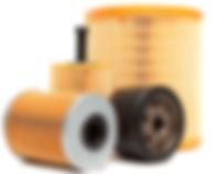 oil filter, air filter, fuel filter, pollen filter, cabin filter, blueprint, bosch, filtron, mahle