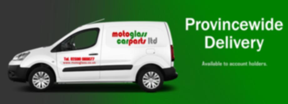 motoglass delivery service provincewide