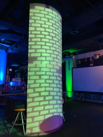 """<img src=""""Minecraft lights bar mitzvah"""" alt=""""neon green lights, bar mitzvah event decor, custom event lights, green bar mitzvah, bar mitzvah ideas, green and blue bar mitzvah, minecraft bar mitzvah"""">"""
