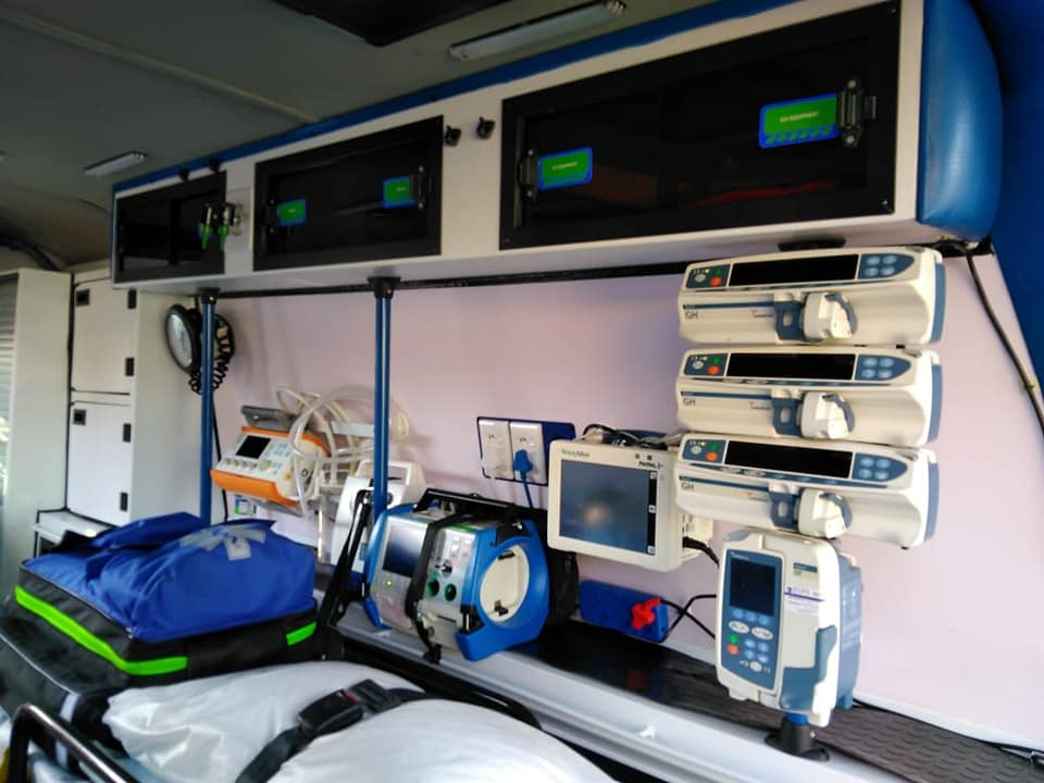DEDICATED ICU AMBULANCE SERVICES
