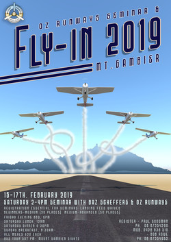 MTG Fly in 2019 poster