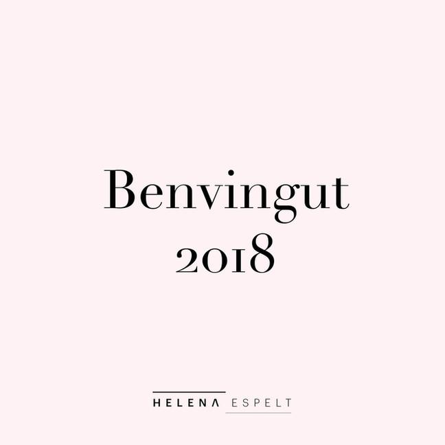 Benvingut 2018