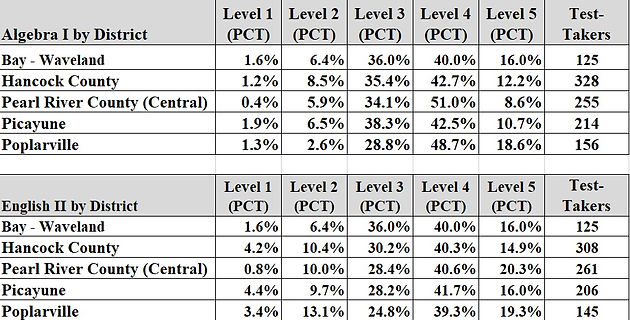 Mississippi Department of Education releases MAAP scores for