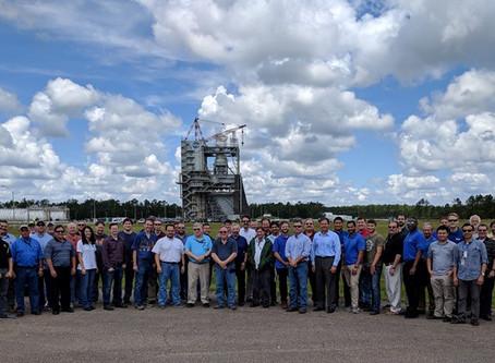 Blended Team Receives Award For Historic Engine Test Series At Stennis