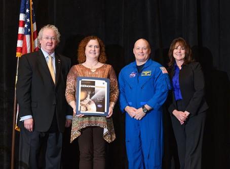 NASA Space Flight Awareness Program Recognizes Stennis Employee Pair