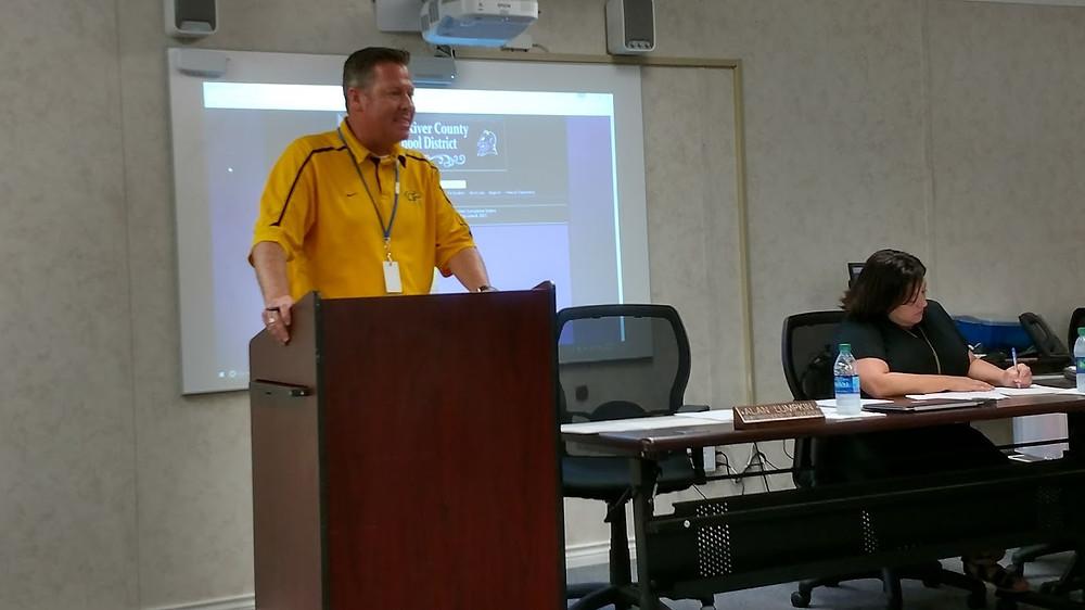 Superintendent ALan Lumpkin