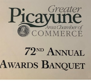 72nd Annual Greater Picayune Area Chamber of Commerce awards banquet held