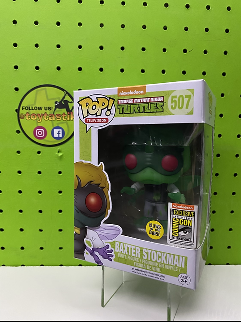TMNT Baxter Stockman GITD Nickelodeon Sticker