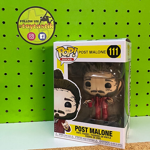 Funko Pop Vinyl Rocks Post Malone