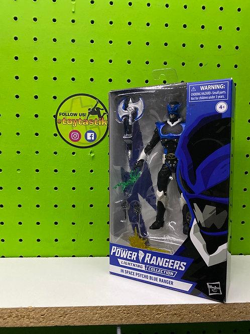 Power Rangers In Space Psycho Blue Ranger