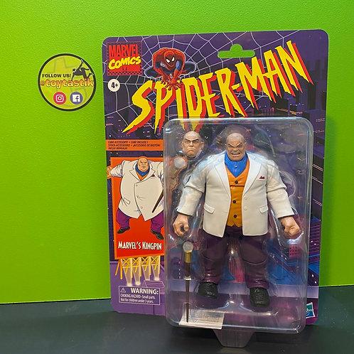 Marvel Legends Kingpin Spiderman Vintage Variant