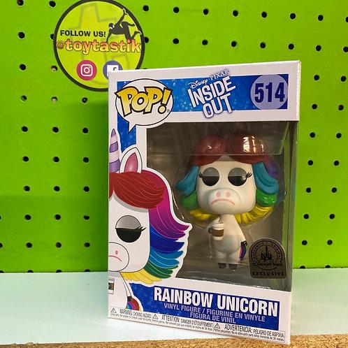 Funko Pop Inside Out Rainbow Unicorn