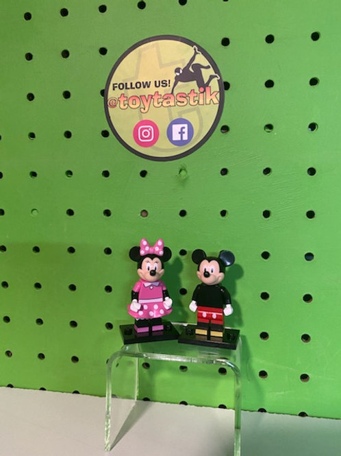 Mickey & Minnie Mouse Disney LEGO Minifigures