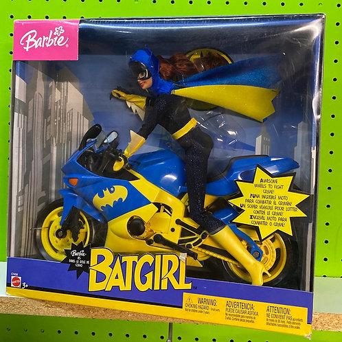 Barbie DC Superhero Batgirl on Cycle
