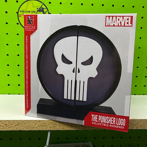 Gentle Giant Marvel Punisher Logo Bookends