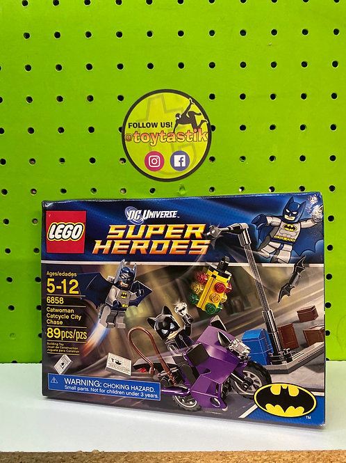 LEGO DC superheroes Catwoman Cycle Chase