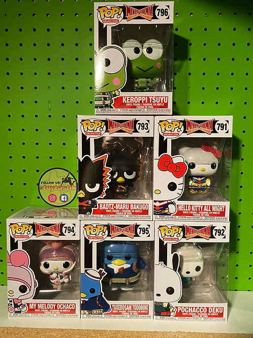 Funko MHA San Rio Mash Up Set