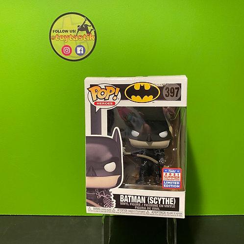Batman with Scythe Pop! Vinyl Figure - 2021 Convention Exclusive