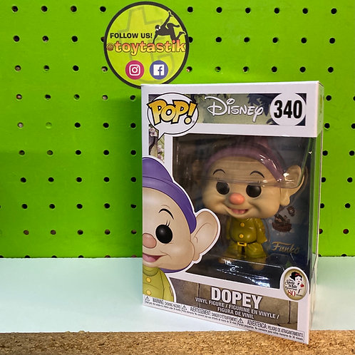 Funko Pop Vinyl Disney Dopey Seven Dwarfs