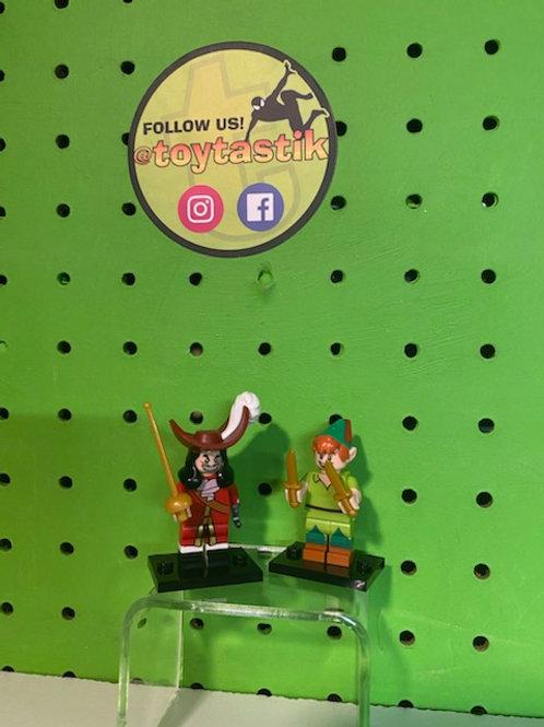 Peter Pan & Captain Hook Disney Minifigures
