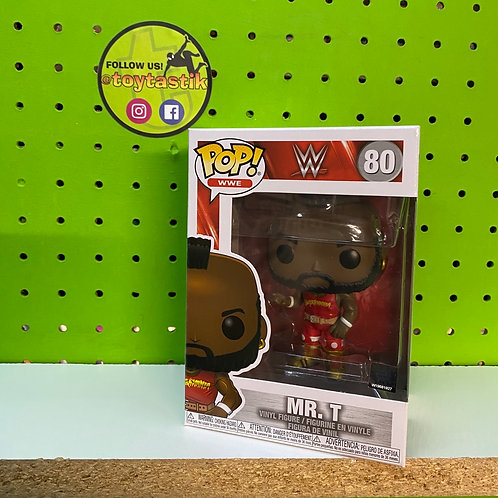 Funko Pop WWE Mr. T Hulkamania