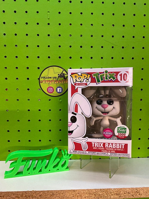 Pop Vinyl Flocked Trix Rabbit Exclusive