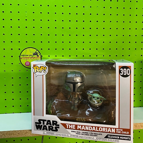 Funko Pop Moment Mandalorian & Child