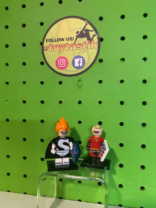 Syndrome & Mr. Incredible Disney LEGO Minifigures