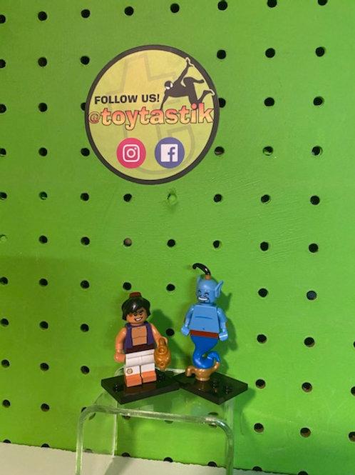 Genie & Aladdin Disney LEGO Minifigures