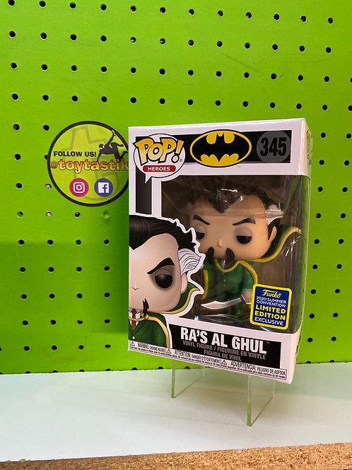 Pop Heroes Ra's Al Ghul Exclusive