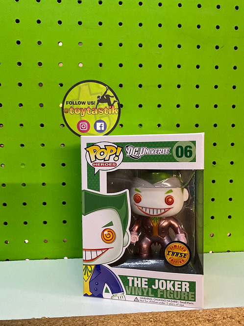 Funko Pop DC Comics Joker Metallic Chase