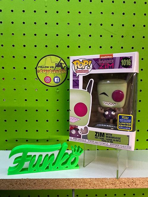 Pop Vinyl Invader Zim with Minimoose Exclusive