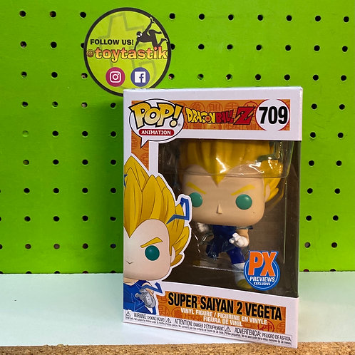 Funko Pop Vinyl DBZ Super Saiyan 2 Vegeta